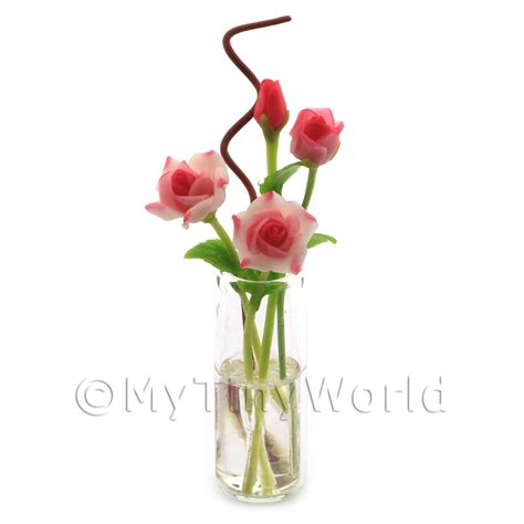 Miniature Glass Flower Vases by Flowers And Plants Flowers In Glass Vases Dolls House
