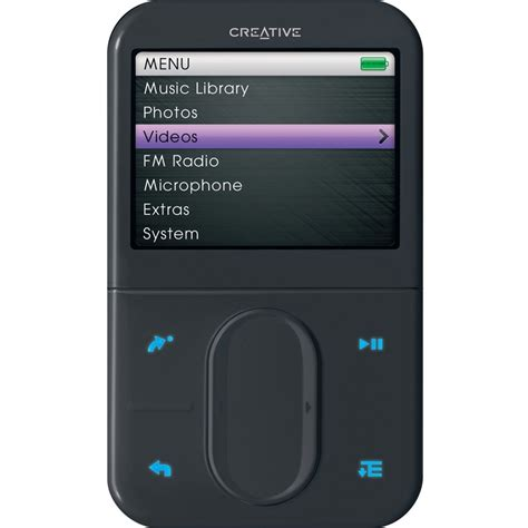 best mp3 player creative zen discontinued creative zen vision m mp3 video player 60gb