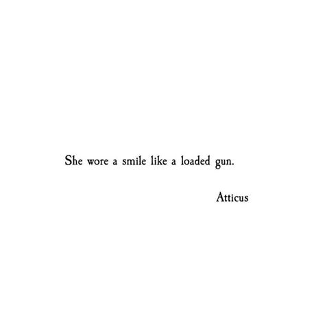 she hides her smile quotes