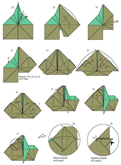 How To Fold Origami Yoda - of jedi master yoda origami via