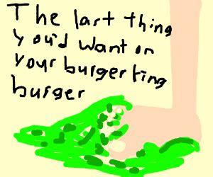 number 15. burger king foot lettuce.