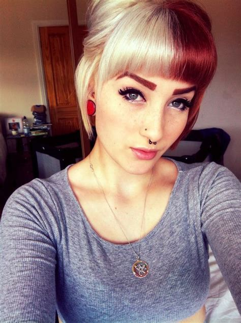 dyeing the hair any colour other than black islamqa 1000 ideas about dyed bangs on pinterest splat hair dye