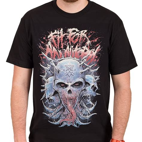 T Shirt Heavy Metal fit for an autopsy quot heavy metal skull quot t shirt fit for