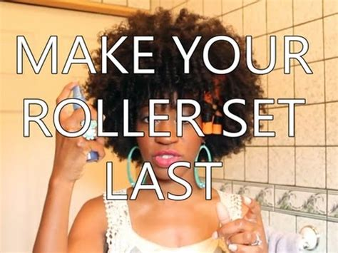 natural hair tutorial making your roller set youtube natural hair tutorial making your roller set last