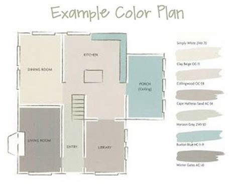 color planning for interiors 25 best ideas about pottery barn paint on pinterest