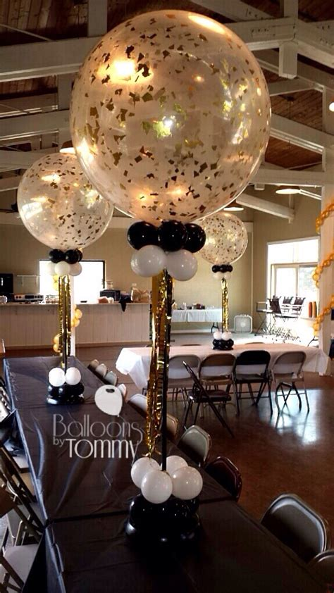 clear 3 foot balloons can be jazzed up with confetti it s