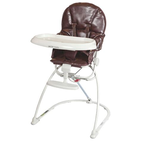 Reclinable High Chair by Guzzie Guss Reclining High Chair Gg203choco