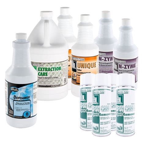 Upholstery Cleaning Chemicals by Assorted Carpet Cleaning Chemical Package Spot Cleaner
