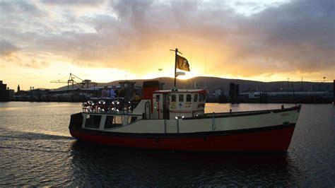 titanic quarter boat tour titanic boat tours lagan boat company visit belfast