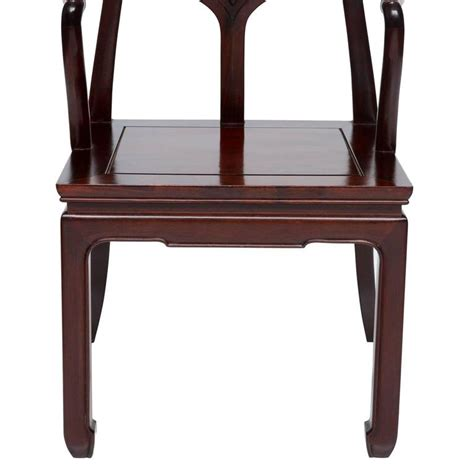 asian inspired furniture vintage set of eight mahogany asian inspired armchairs for