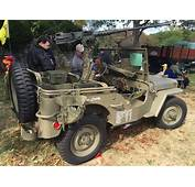 1943 Willys MB US Army Jeep At 2015 Rockville Show