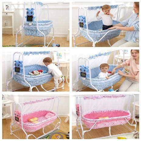 2015 New Arrival Automatic Swing Baby Cradle Infant Electric Swing Baby Crib