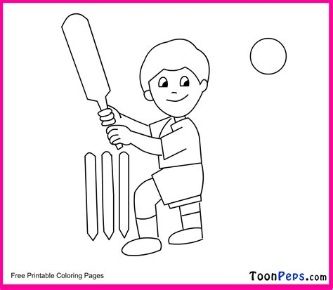 Cricket Colouring Pages Cricket Printable Coloring Pages by Cricket Colouring Pages
