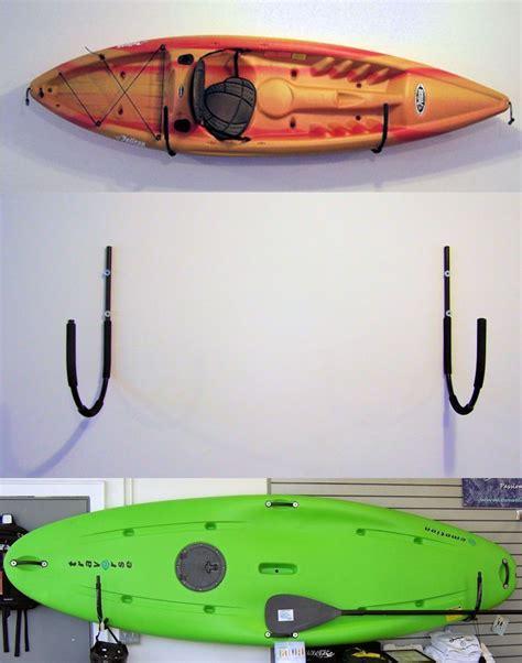 Kayak Outdoor Storage Rack by Kayak Or Canoe Wall Storage Rack Pack Em Racks