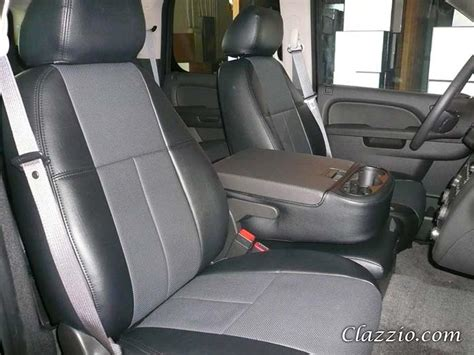 2010 silverado leather seat covers gmc chevy silverado clazzio seat covers