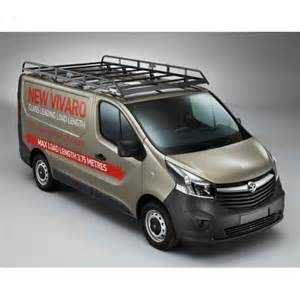 Vauxhall Vivaro Carrier Rhino Modular Roof Rack Vauxhall Vivaro 2014 Onwards Lwb