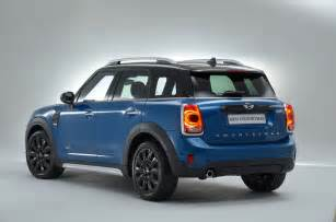 the new mini car 2017 mini countryman revealed autocar