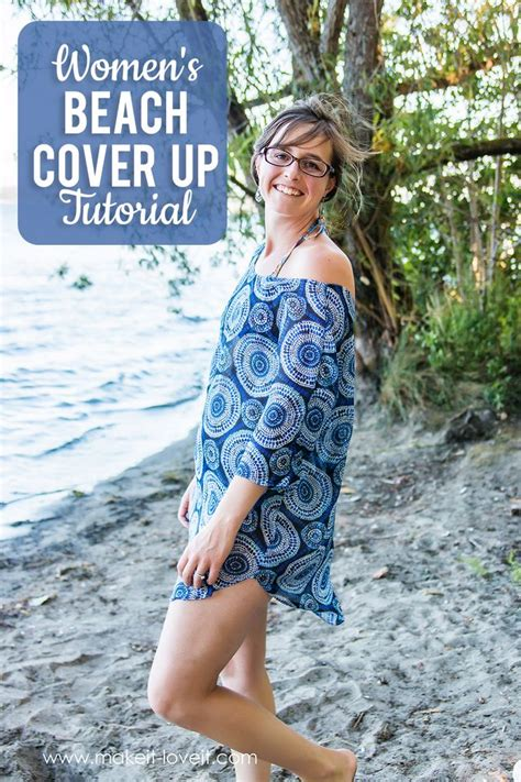 pattern beach cover up free women s beach cover up tutorial pdf pattern pieces