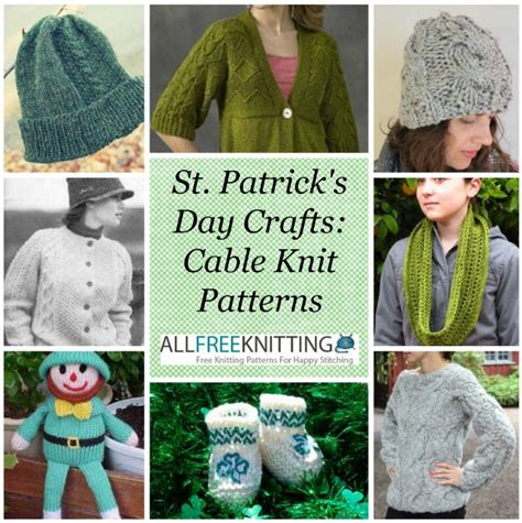 st st knitting st s day crafts 40 cable knit patterns