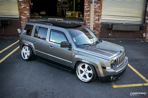 stanced jeep patriot image gallery stanced jeep