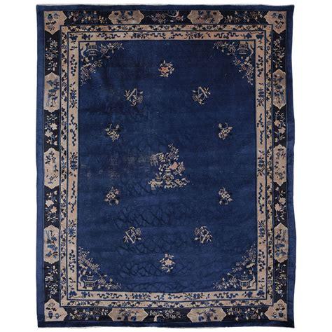 indigo rugs indigo blue peking rug for sale at 1stdibs