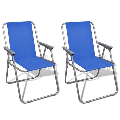 vidaxl co uk folding chair set 2 pcs cing outdoor