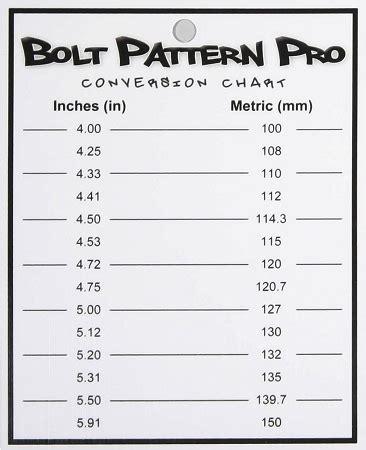 chevy caprice wheel bolt pattern patterns