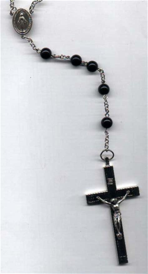 rosary around neck all rosary bead tattoos