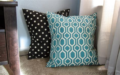 no sew cushion covers great no sew pillow covers great home decor no sew