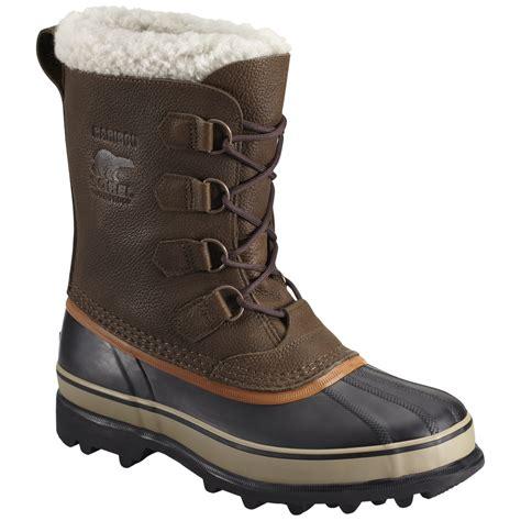 sorel winter boots mens sorel s caribou wool winter boot