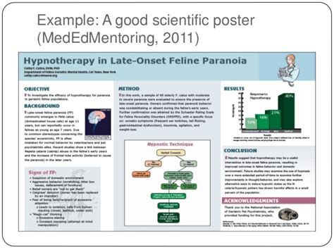 good templates for posters a small presentation about academic poster making