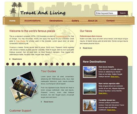 membuat web travel agent 10 template html gratis untuk website tour travel