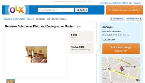 Zoologischer Garten Berlin Informationen by Informationen 252 Ber Wohnungsbetrug Informations About