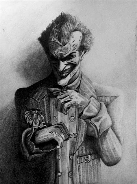 imagenes a lapiz del joker dibujo del joker con lapices de grafitos