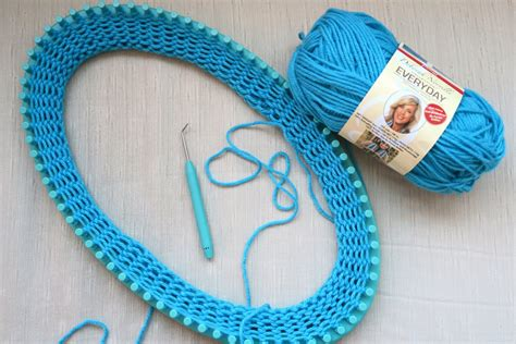 knitting loom derosier my creative july 2016