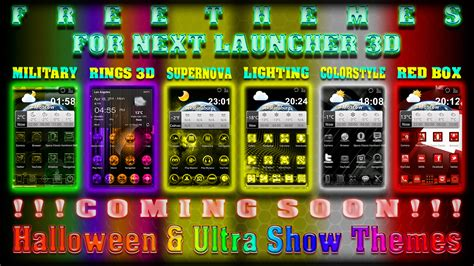 themes for launcher 3 free themes for quot next launcher 3d quot