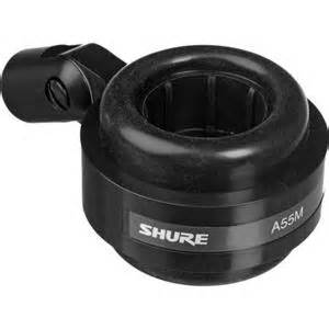 shure a55m shockstopper isolation mount for microphones a55m