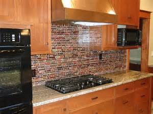 Red Tiles For Kitchen Backsplash Lunada Bay Tile Kitchen Inspirations