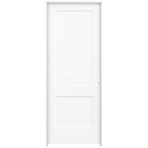 Jeld Wen 36 In X 96 In Monroe White Painted Left Hand 96 Interior Doors