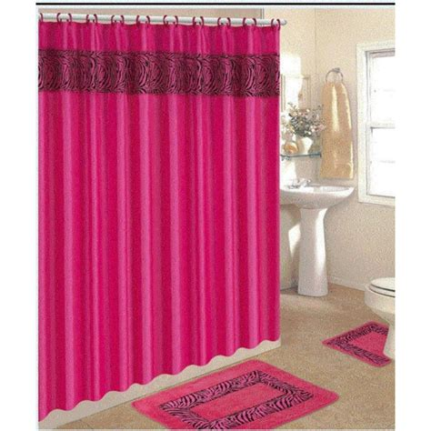 dark pink shower curtain dark pink shower curtain shower curtain