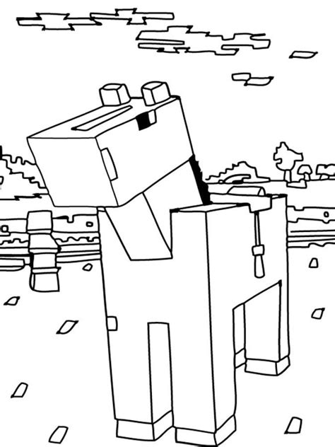 minecraft coloring pages cow free cow coloring pages printable