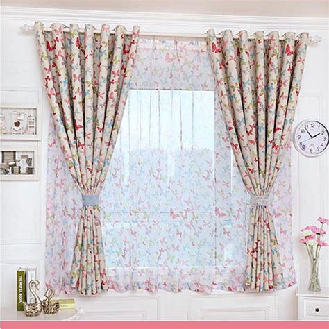 butterfly bedroom curtains popular butterfly curtains buy cheap butterfly curtains