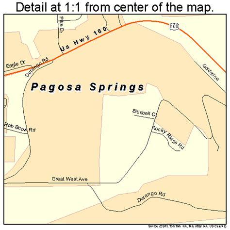 map of colorado pagosa springs pagosa springs colorado mapquest images