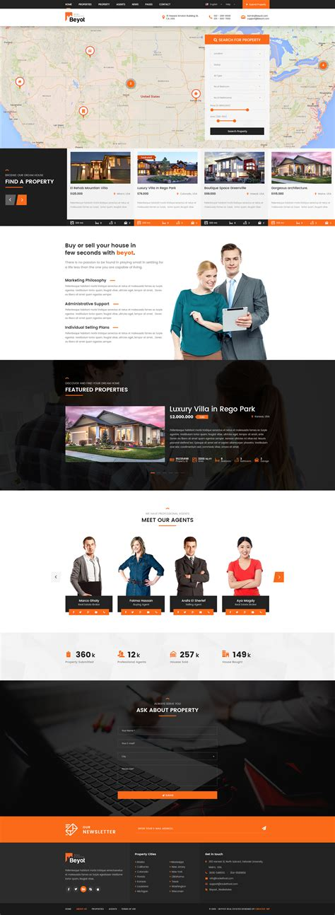 themeforest beyot beyot real estate psd template by creative wp themeforest