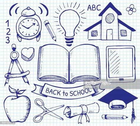 education drawing graph paper stock illustrations and getty images