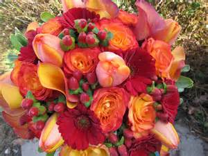sisters floral design studio lush fall colors