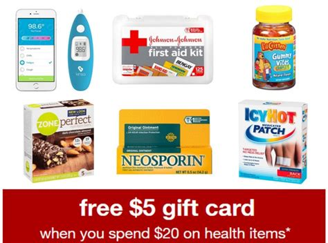 Target 5 Gift Card - target health care gift card coupon all things target