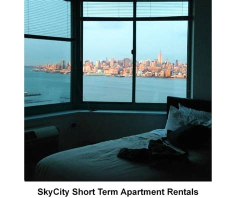 short term appartments top 7 nj hotels with view of nyc new jersey hotels near nyc