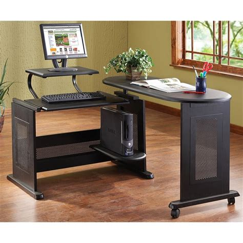 swing desk l homestyles 174 deluxe swing open desk 205929 office at