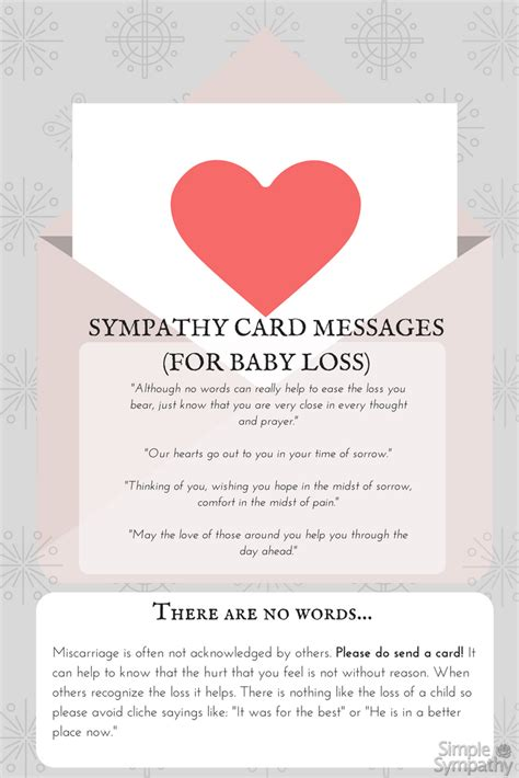 card messages miscarriage sympathy card messages